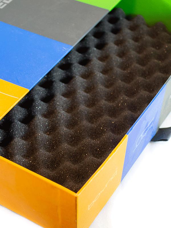 æggebakkeskum i kasse